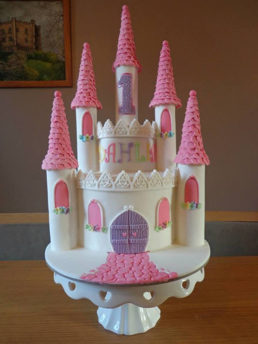 Easy Castle Birthday Cake