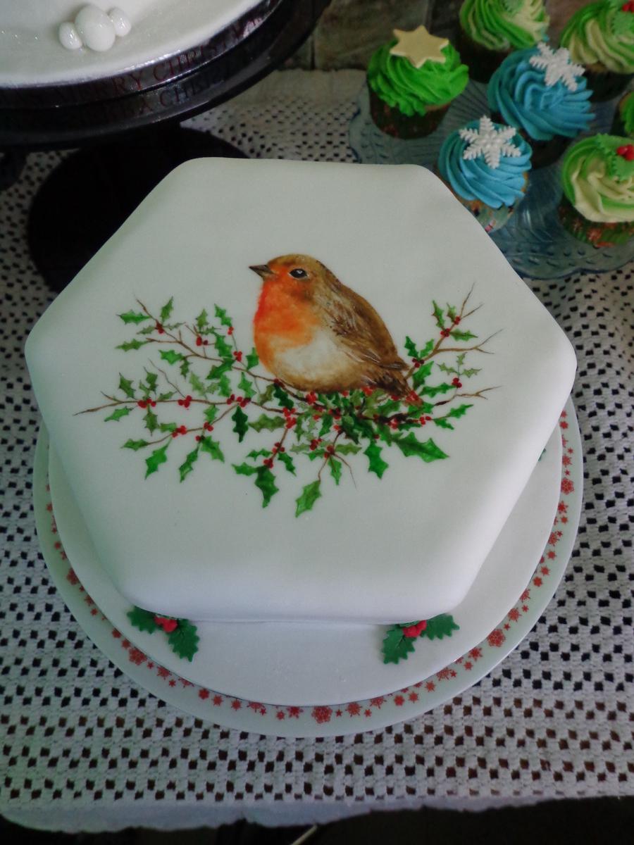 Robin Bird Cake Ideas