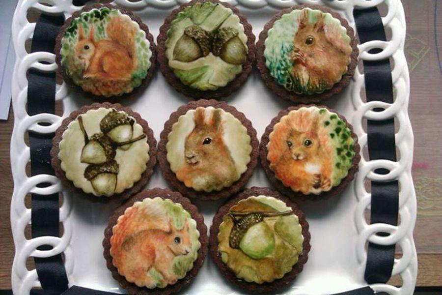 Squirrel Cake Recipe