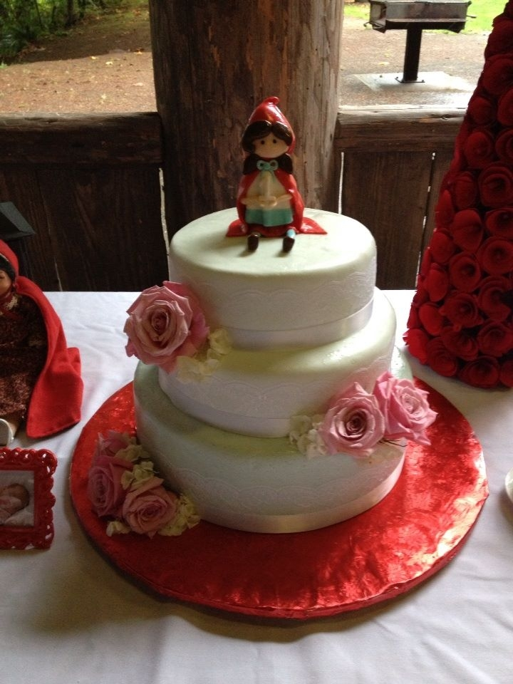1st Birthday Little Red Riding Hood Cake Cakecentral