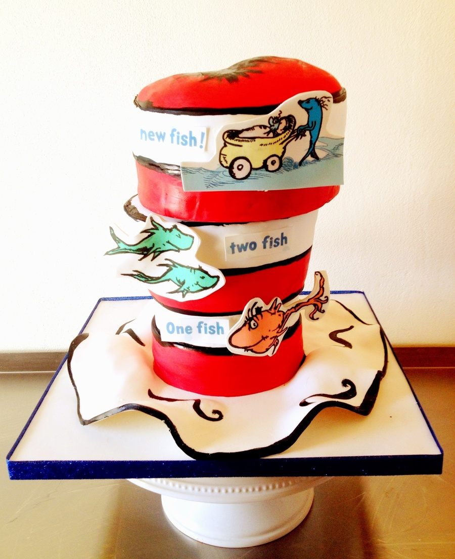 Dr. Seuss Baby Shower:) on Cake Central