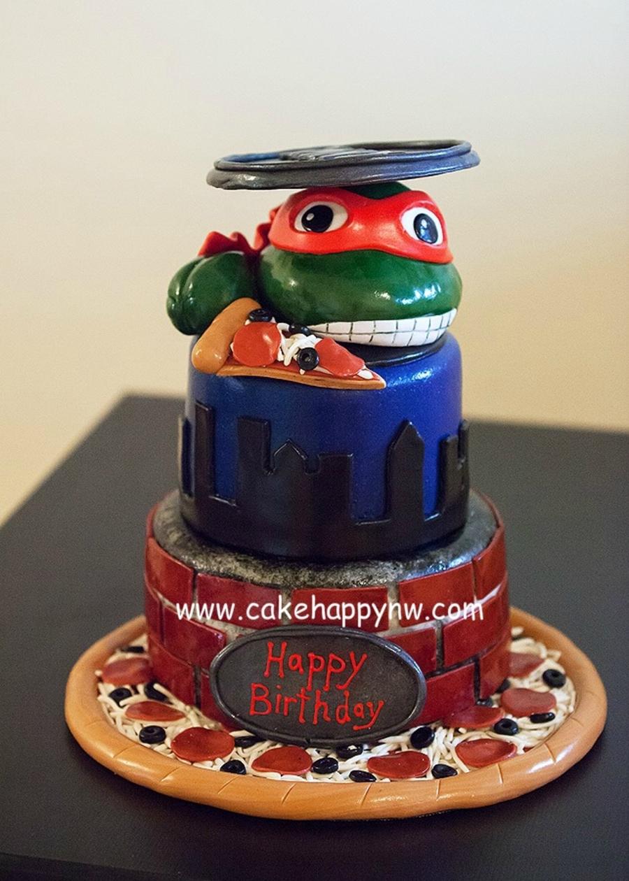 Teenage Mutant Ninja Turtles Cake CakeCentralcom