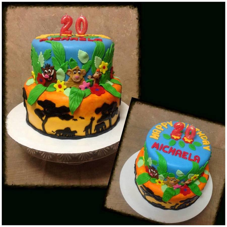 Lion King Birthday Cake Cakecentral Com