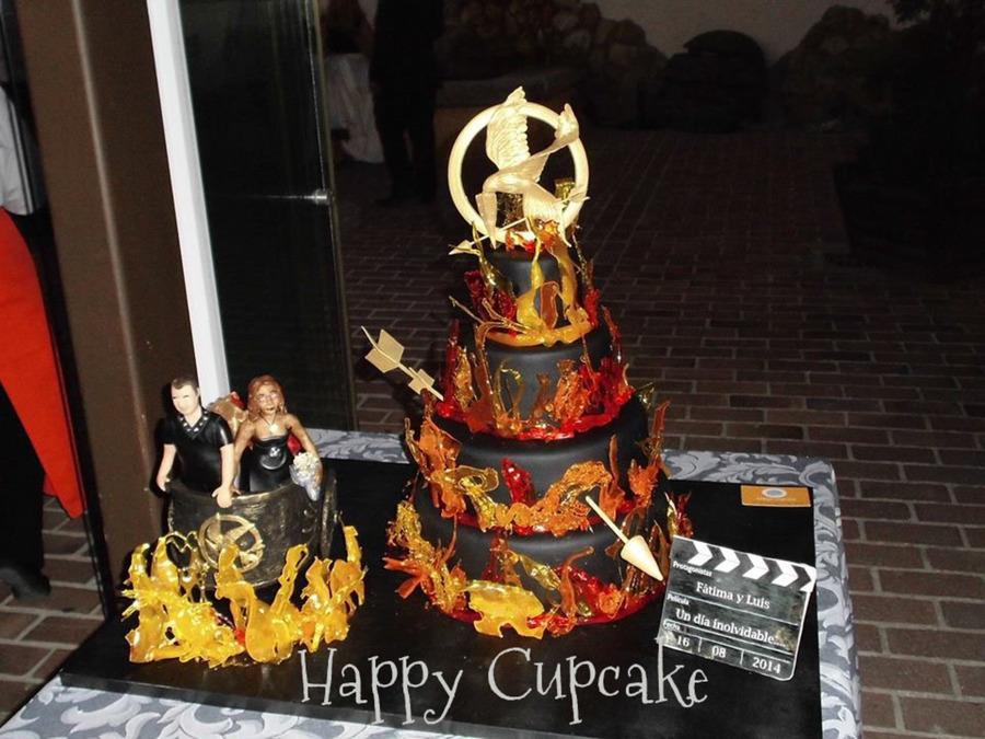 Hunger Games Wedding Cake Cakecentral