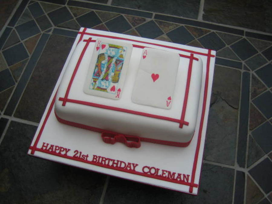 Cards Made From Pastillage And Hand Painted on Cake Central