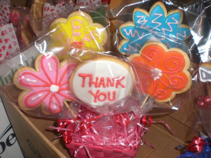Thank You Bouquet on Cake Central