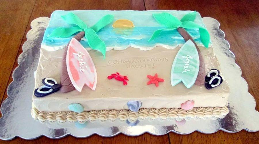 Fondant Decor On Buttercream Cake : Bridal Shower Cake Swiss Meringue Buttercream With Fondant ...