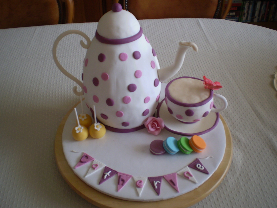 Tea Pot on Cake Central