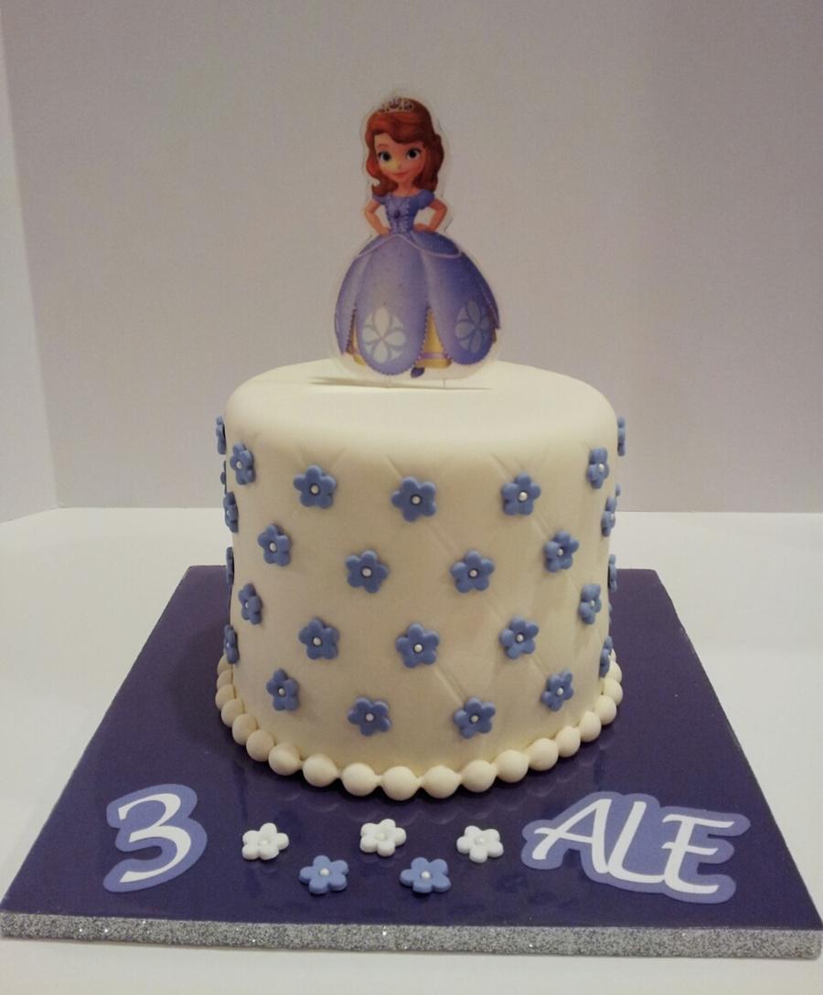 Sofia Princess Birthday Cake CakeCentralcom