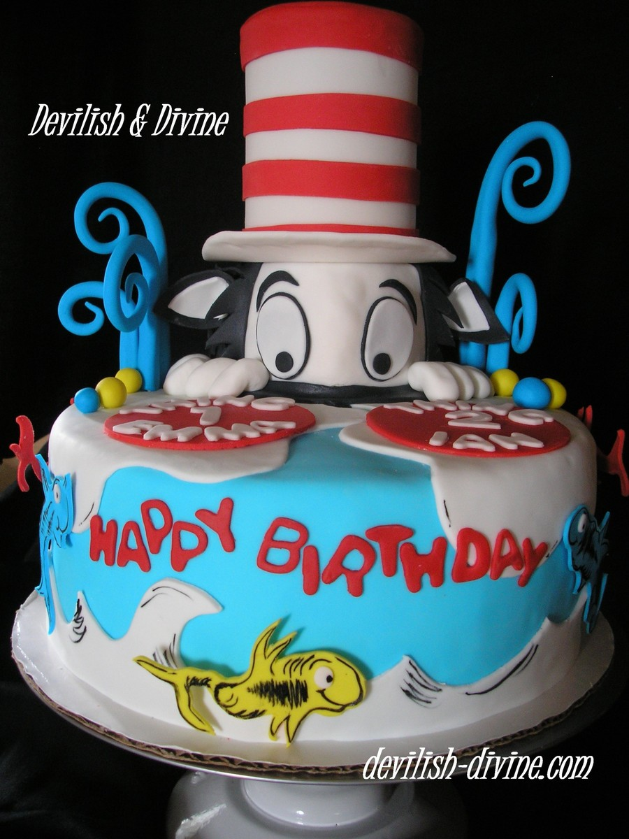 A Dr Seuss Theme For A Double Birthday Boy And Girl Very Fun To