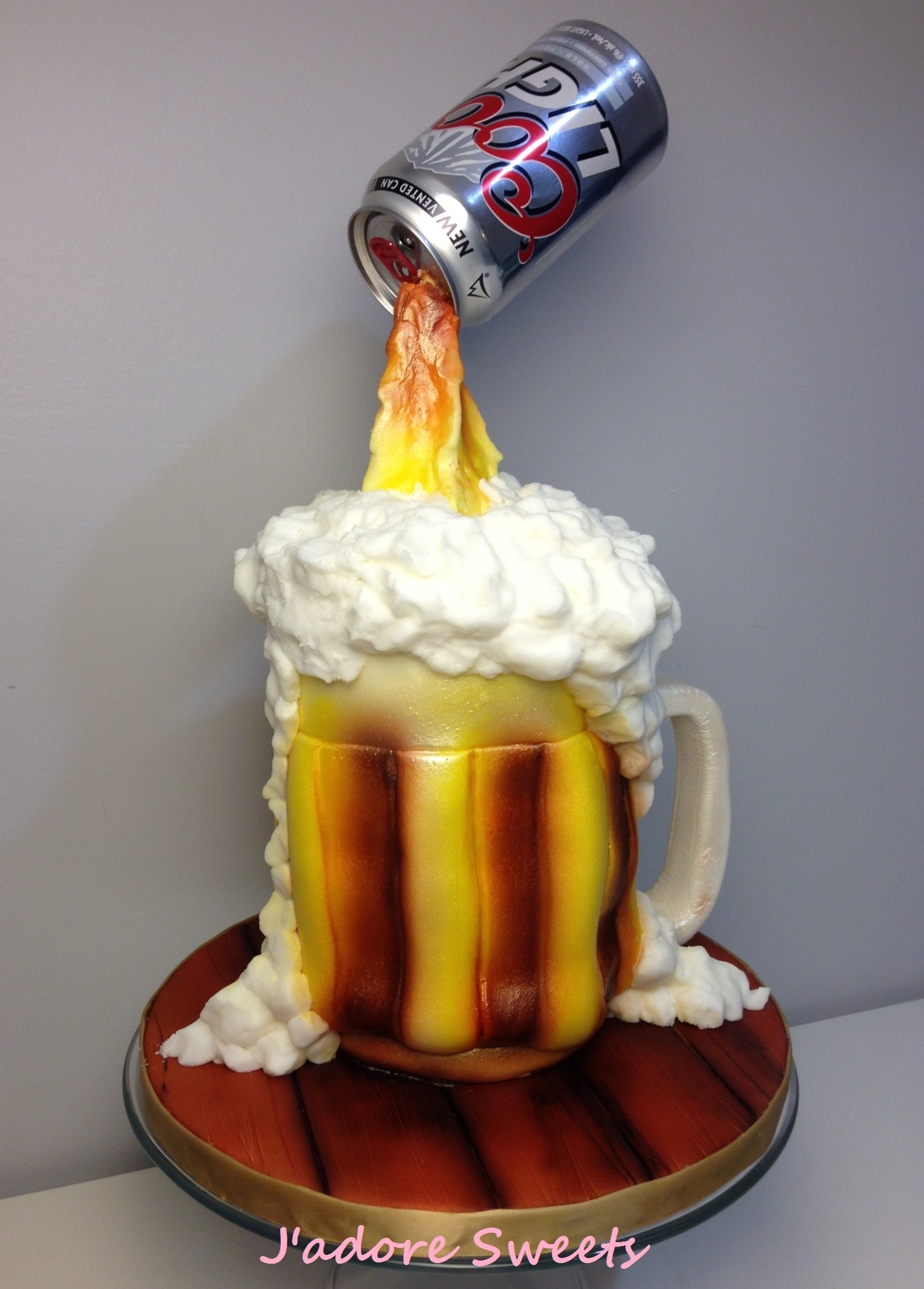 Beer Mug Cake Recipe