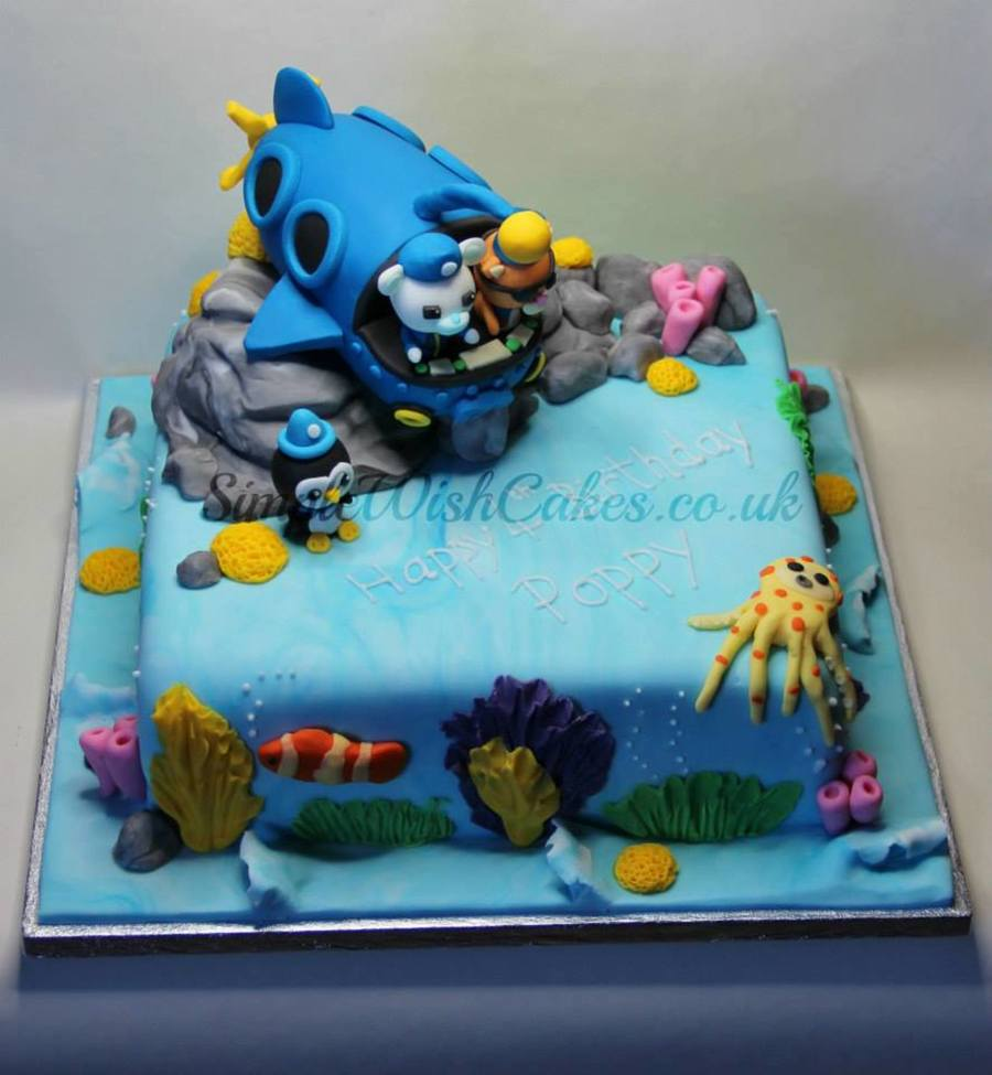 Octonauts Birthday Cake on Cake Central