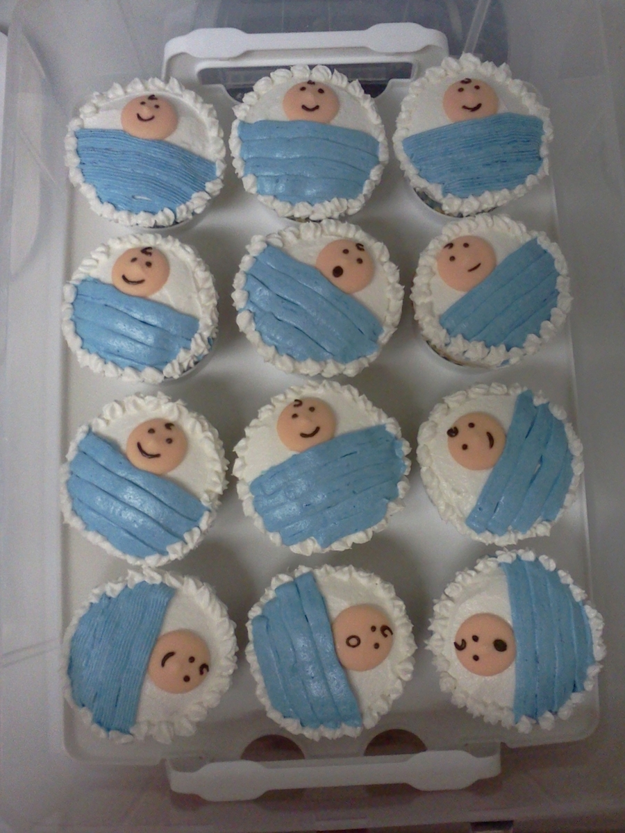 Baby Shower Cupcakes - CakeCentral.com