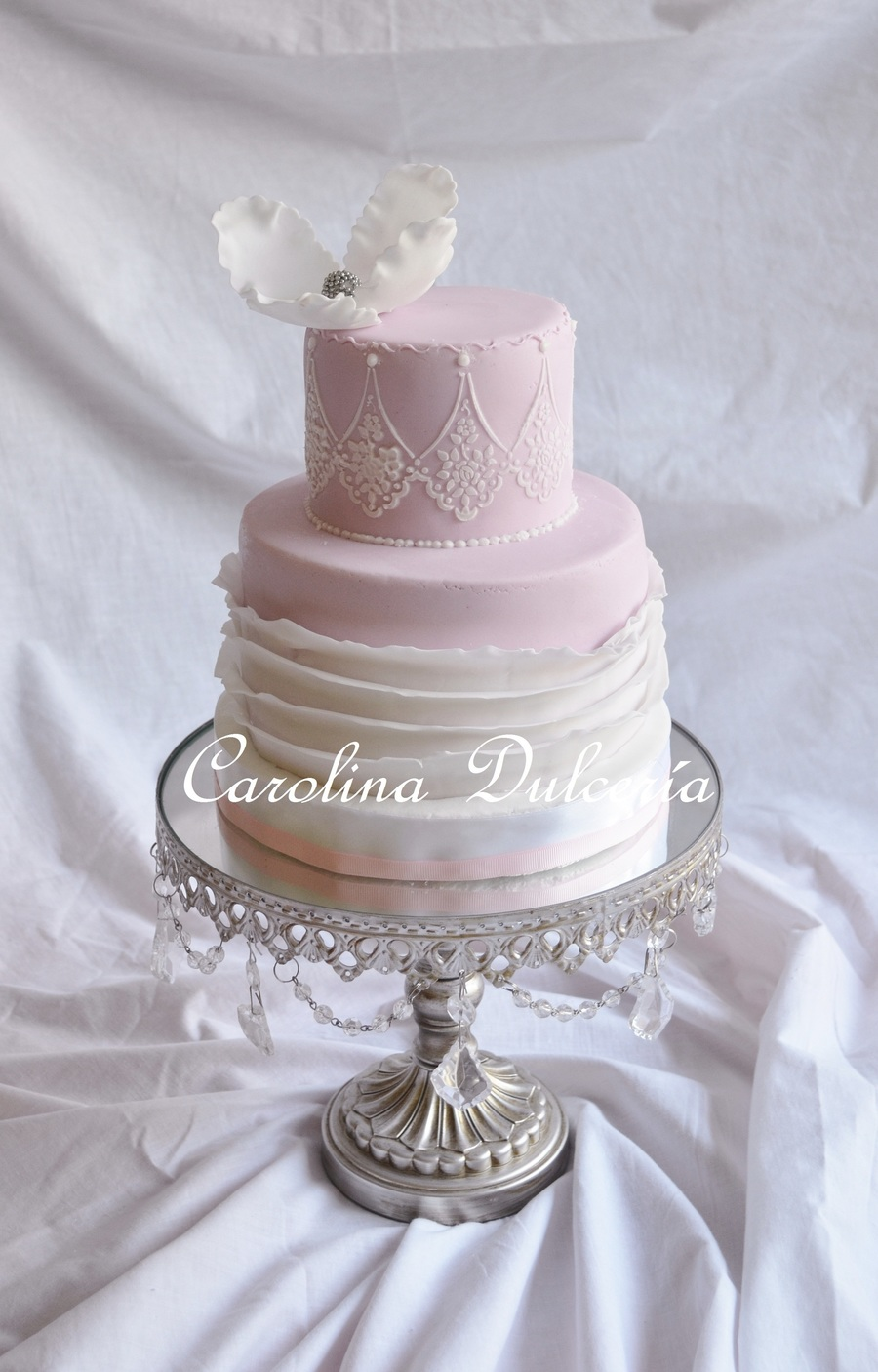 Ruffles In Pink on Cake Central