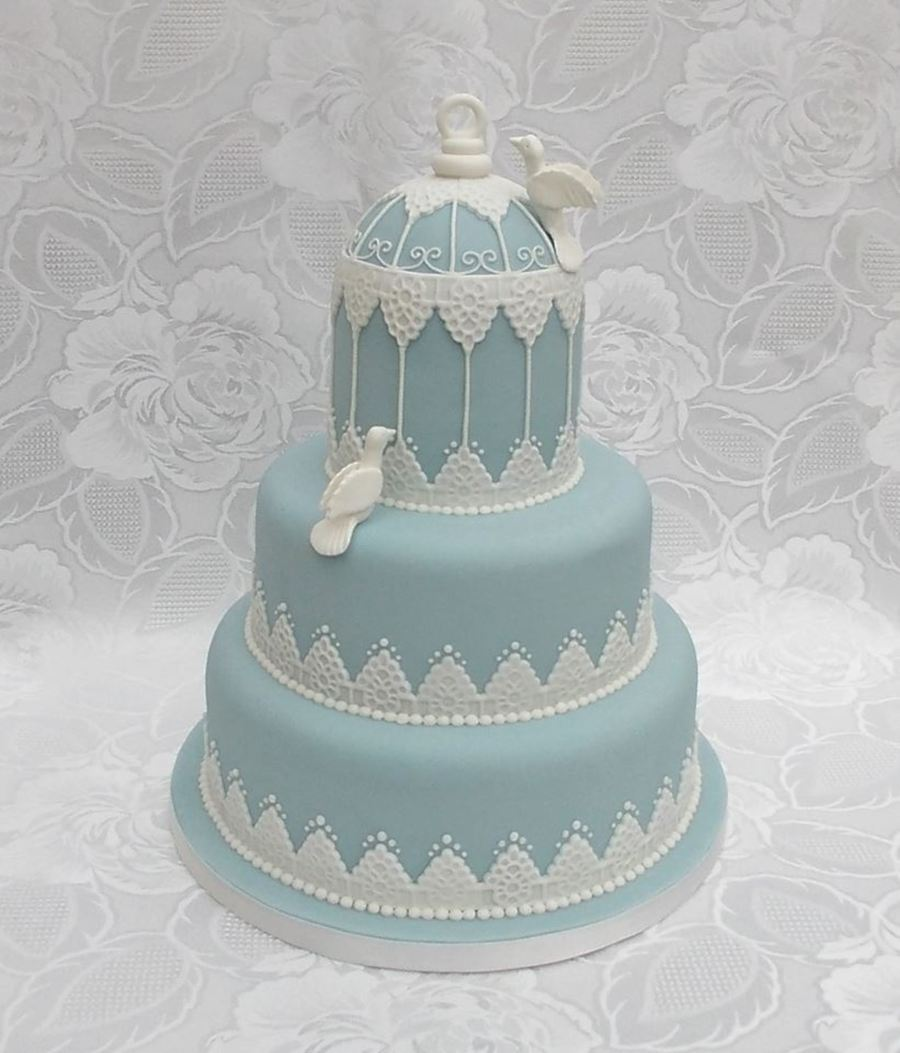 Lace Templates For Wedding Cakes