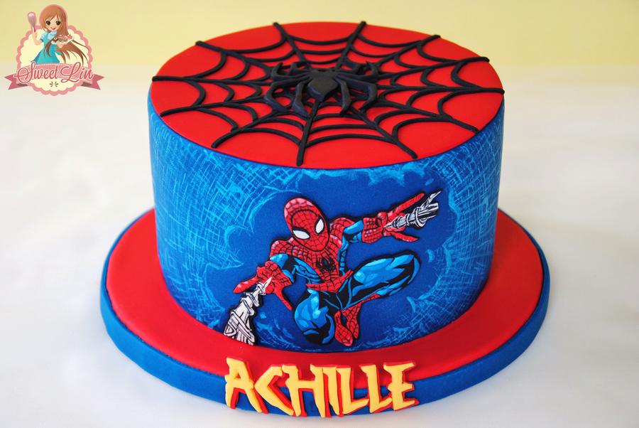 Cake Birthday Spiderman