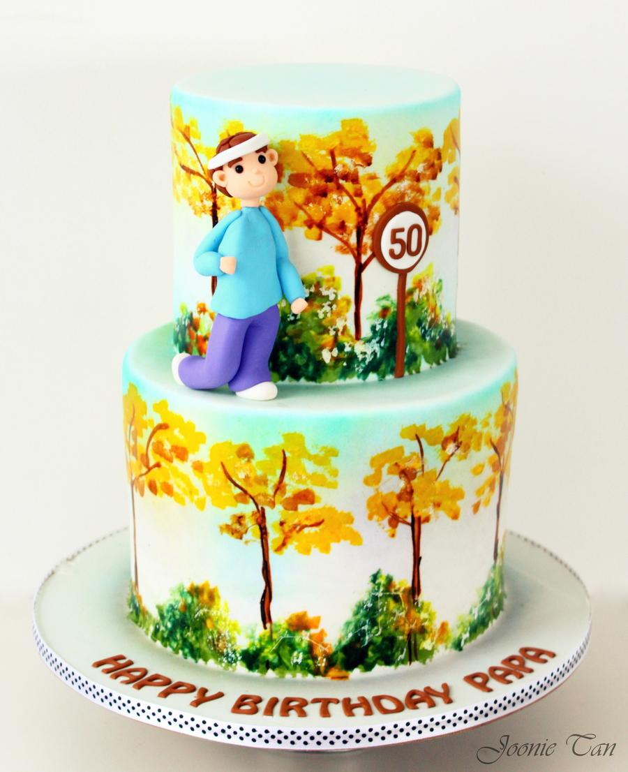 Papas 50Th Birthday CakeCentralcom