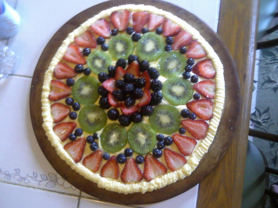 Fruit Tart on Cake Central