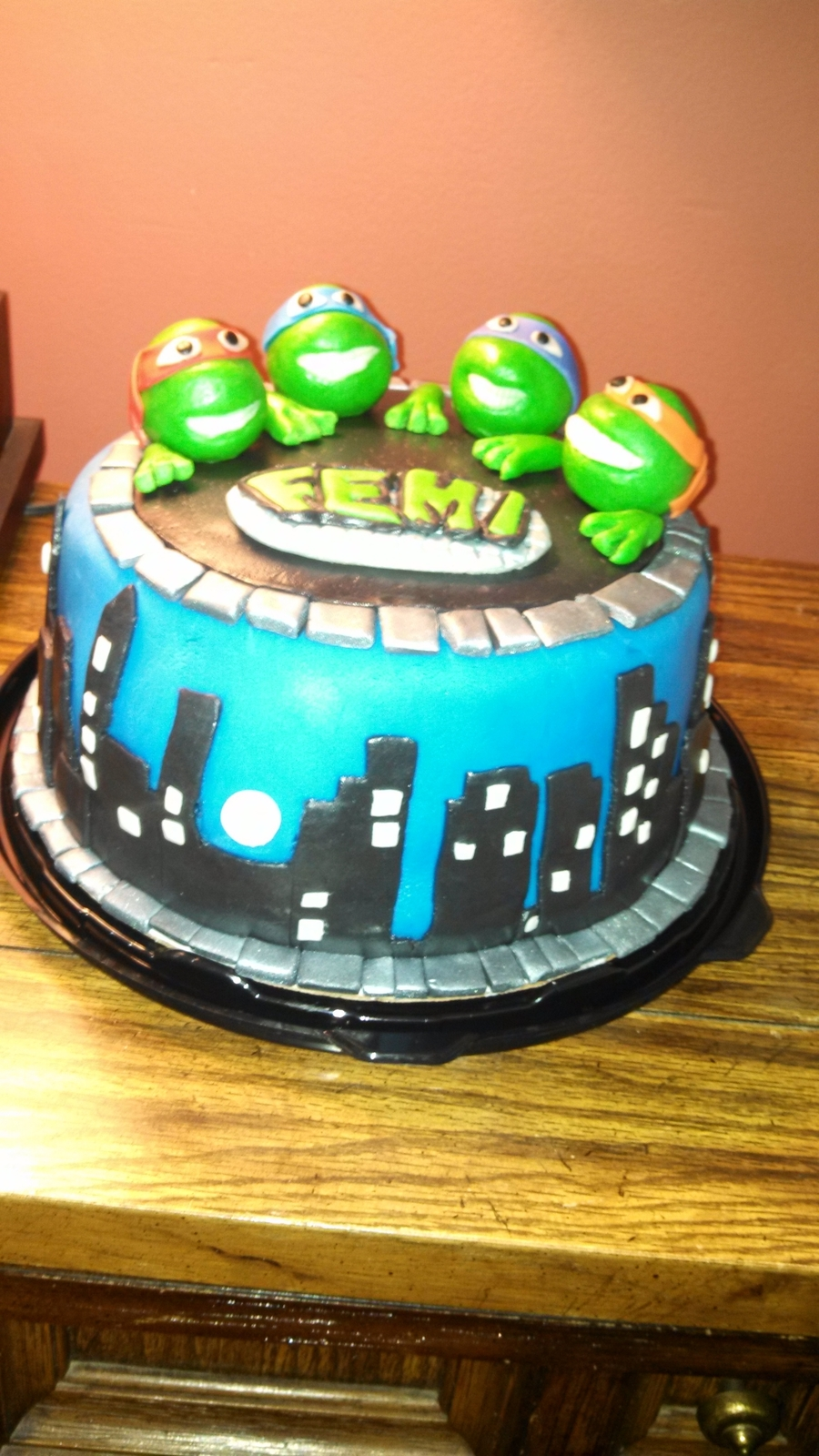Teenage Mutant Ninja Turtle Cake Cakecentral Com