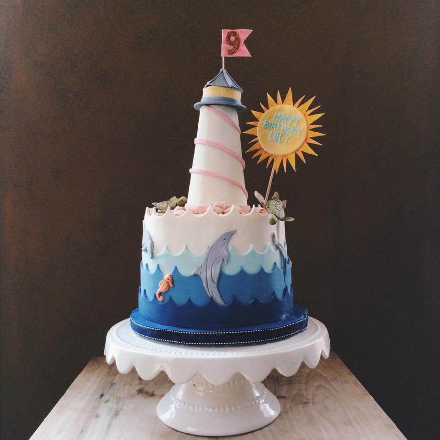 Lighthouse Birthday Cake Recipe