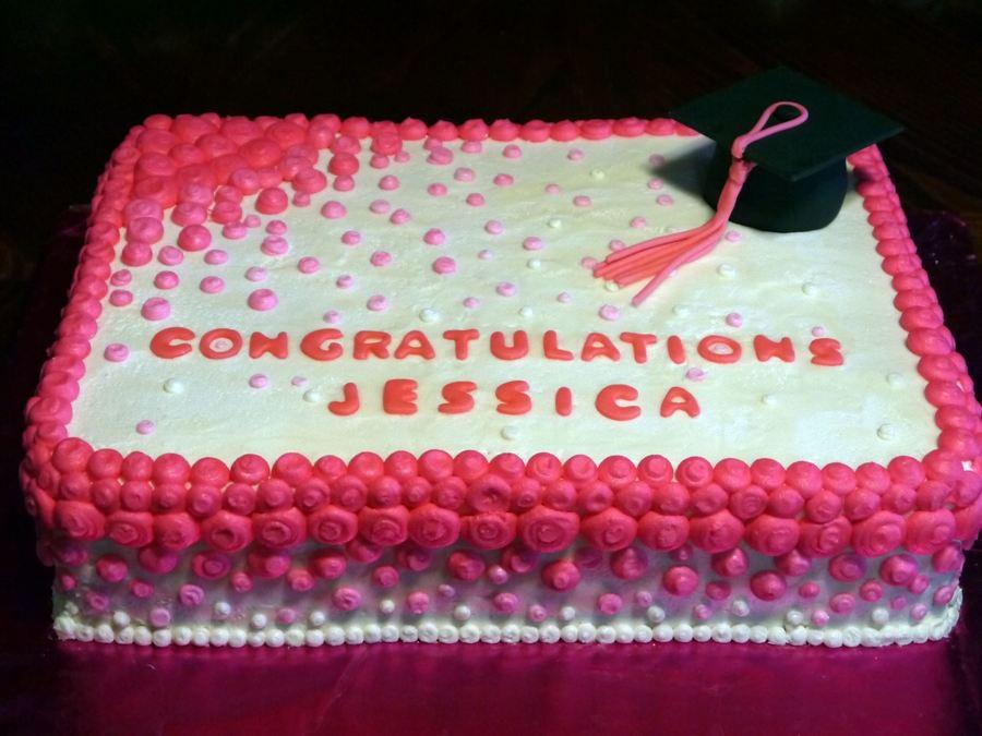 Graduation Sheet Cakes Buttercream Graduation...