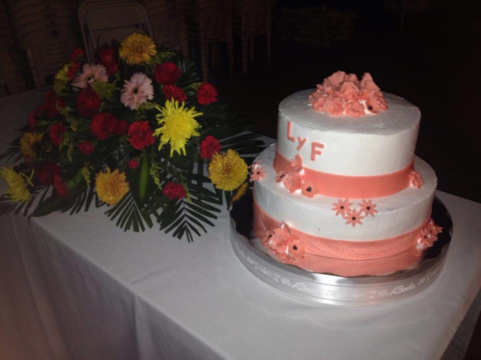 peach wedding cake gallery white and wedding cake cakecentral 18146