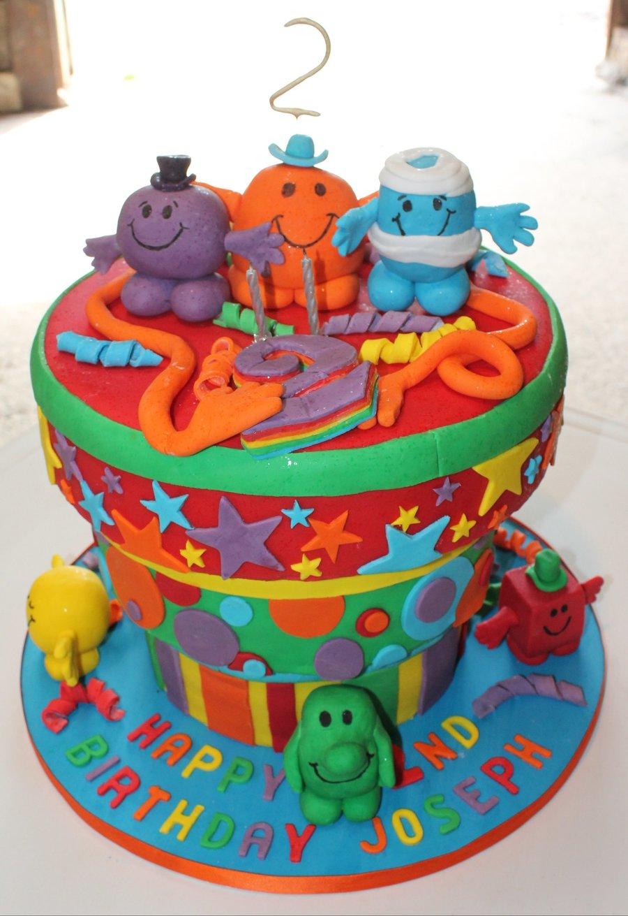 Astounding Josephs 2Nd Mr Men Birthday Cake Cakecentral Com Personalised Birthday Cards Veneteletsinfo