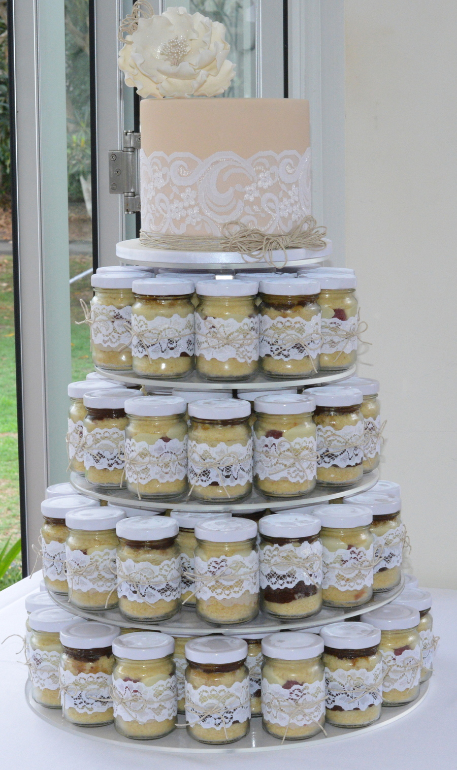 wedding cake in a jar cake jar wedding cake cakecentral 22964