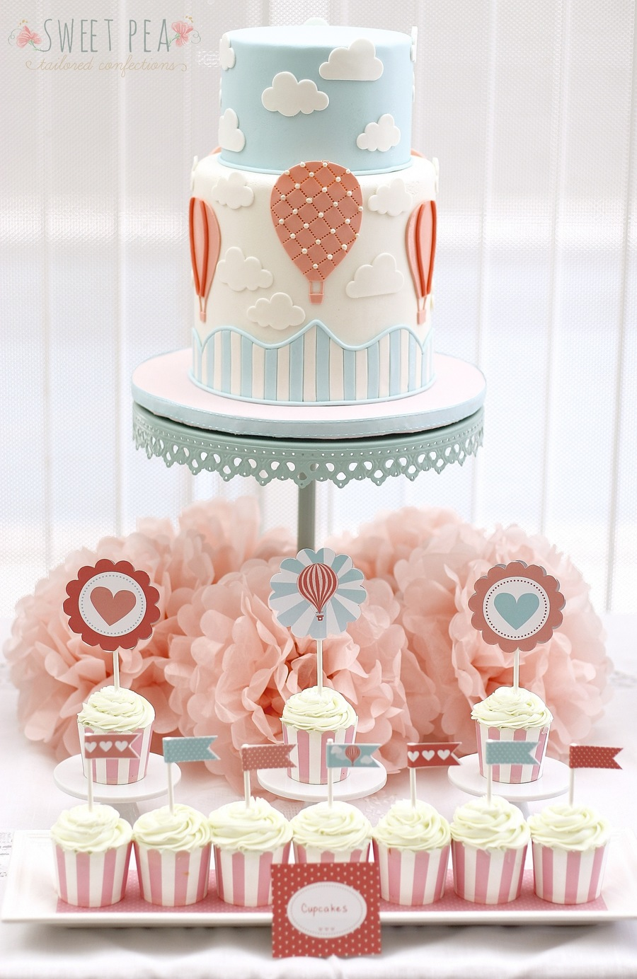 Hot Air Balloon Themed Baby Shower Cakecentral Com