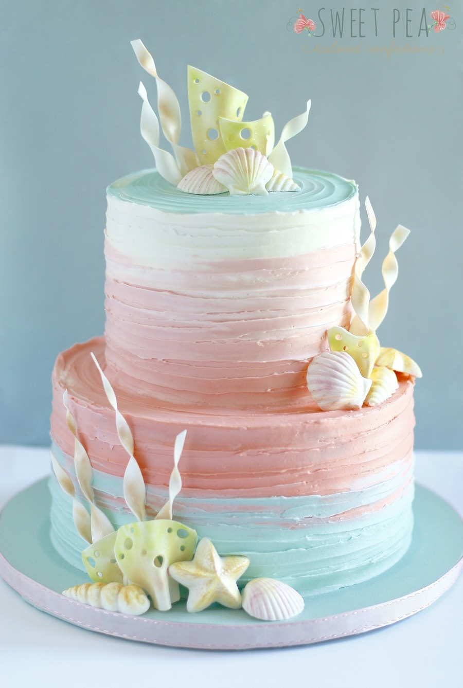 Ombre Cake How To