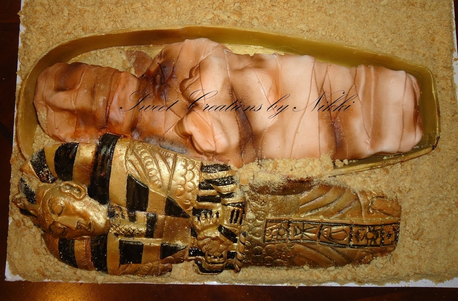 Ancient Egyptian Chocolate Cake Recipe