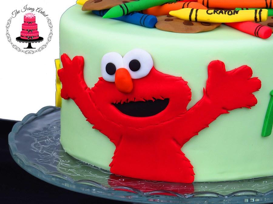 elmo template for cake - elmo sesame street cake