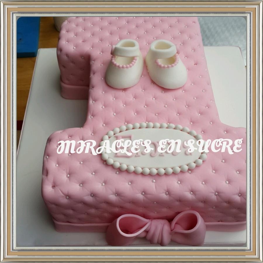 Cake Designs For Baby Girl St Birthday