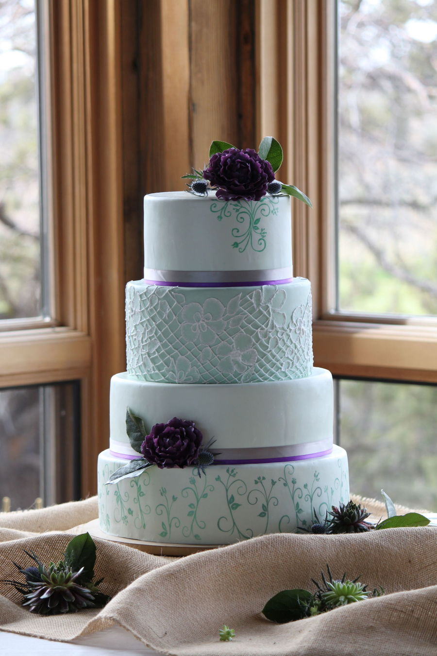 Thistles For Wedding Cakes