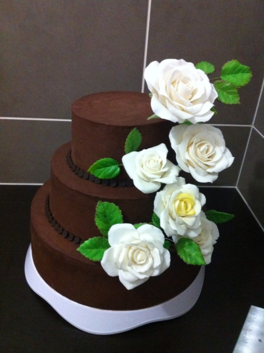 Pleasing This Cake For My Husbands Birthday Cake Looks Like Wedding Cake I Personalised Birthday Cards Veneteletsinfo