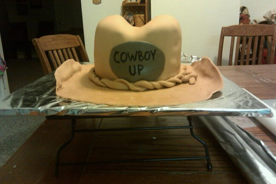 Cowboy Hat on Cake Central