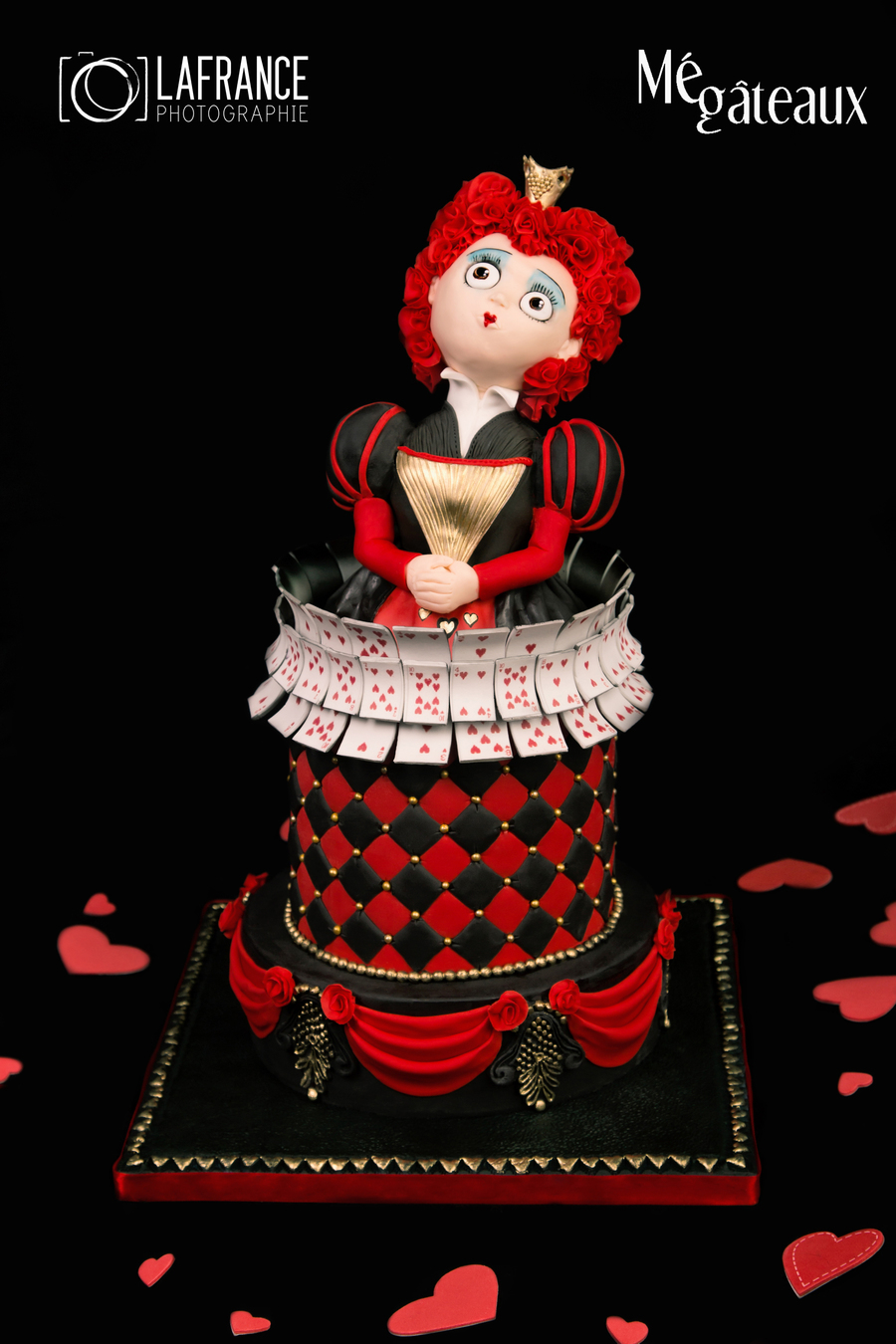 Queen Of Heart Cake - CakeCentral.com