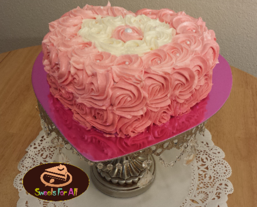 Heart Shaped Cake Decorating Ideas