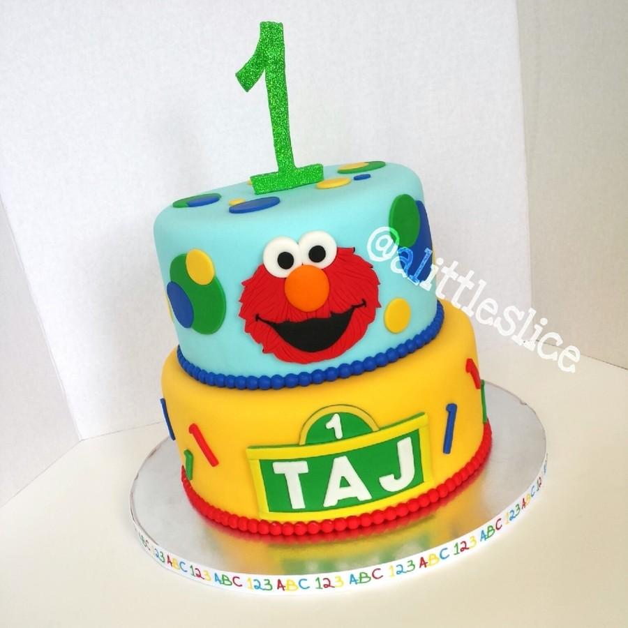 Elmo 1St Birthday Cake On Central