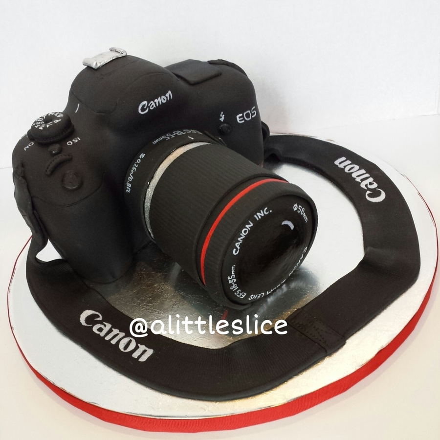 3d Canon Rebel Cake