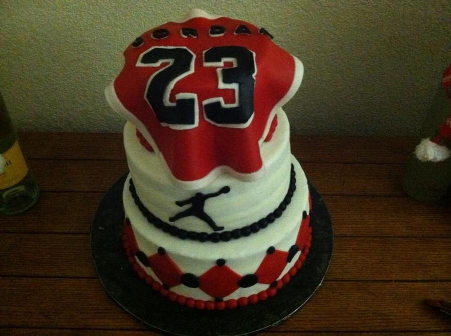 Michael Jordan Bday Cake CakeCentralcom