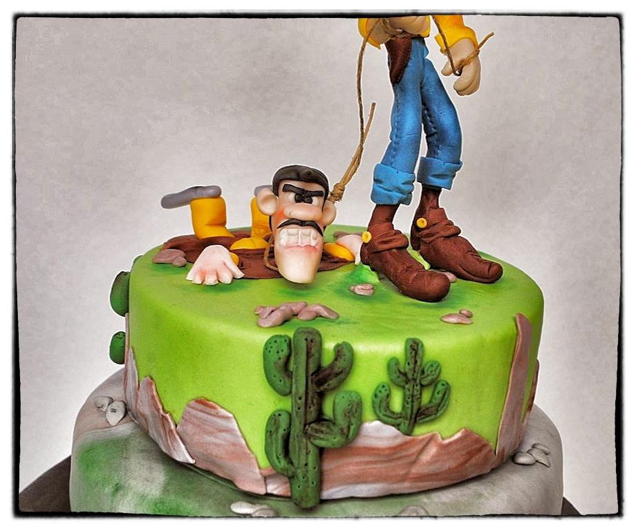 Lucky Luke Cake For My Grandchild CakeCentralcom