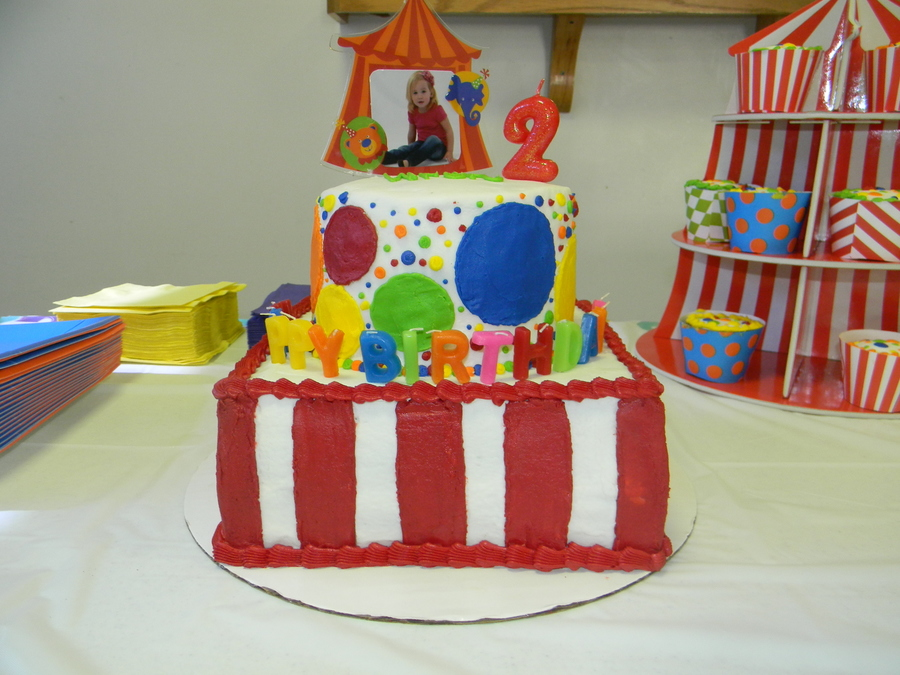 Circus Birthday on Cake Central