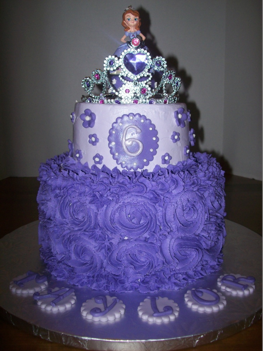 Sofia The First Cake Cakecentral Com