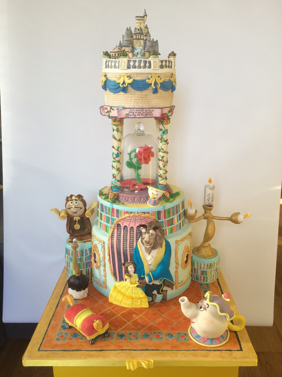 Beauty And The Beast Cakecentral Com