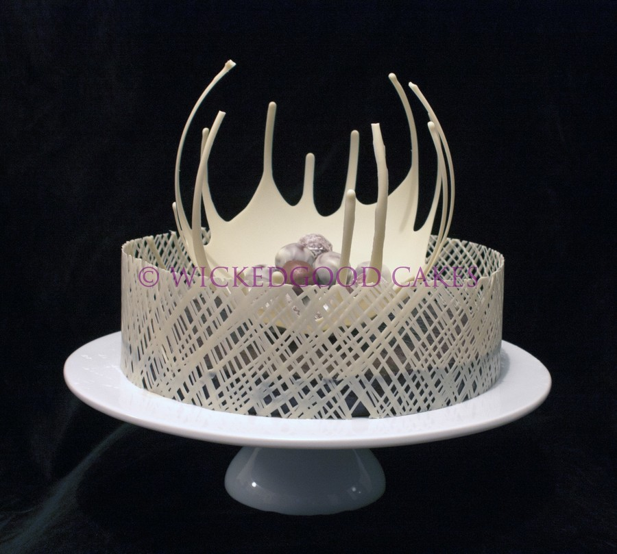 Cake Chocolate Collar