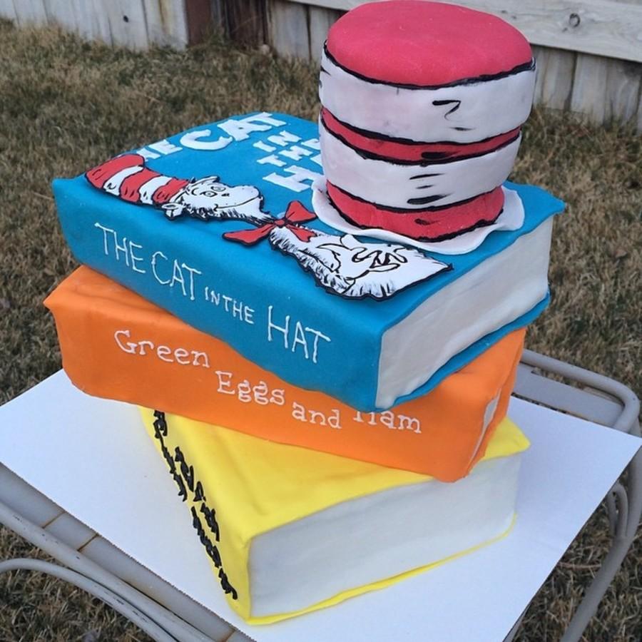 Stack Of Books Cake Recipe