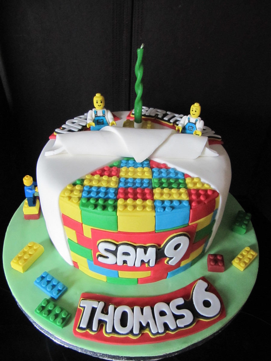 Lego Birthday Cakes For Boys
