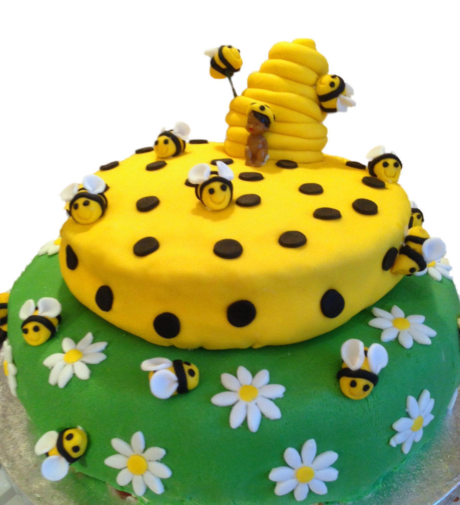 Bumblebee Baby Shower Cake On Central