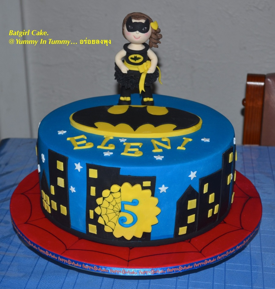 Batgirl Cake Cakecentral